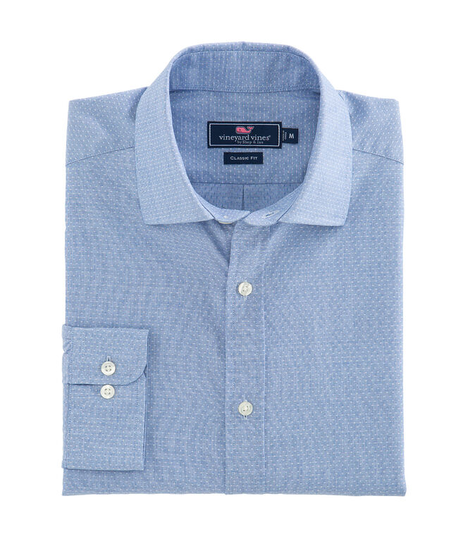 Dobby Classic Fit Burgee Shirt