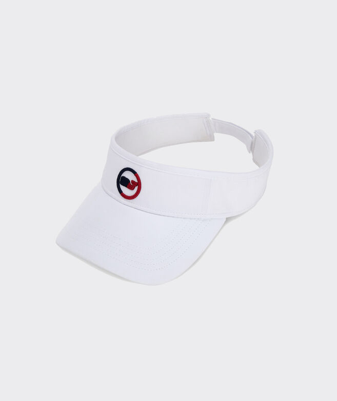 Two-Tone Whale Dot Low Profile Performance Visor