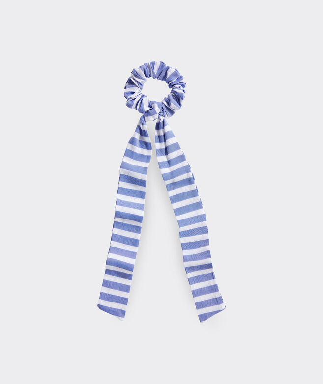 Sail Stripe Long Tail Scrunchie