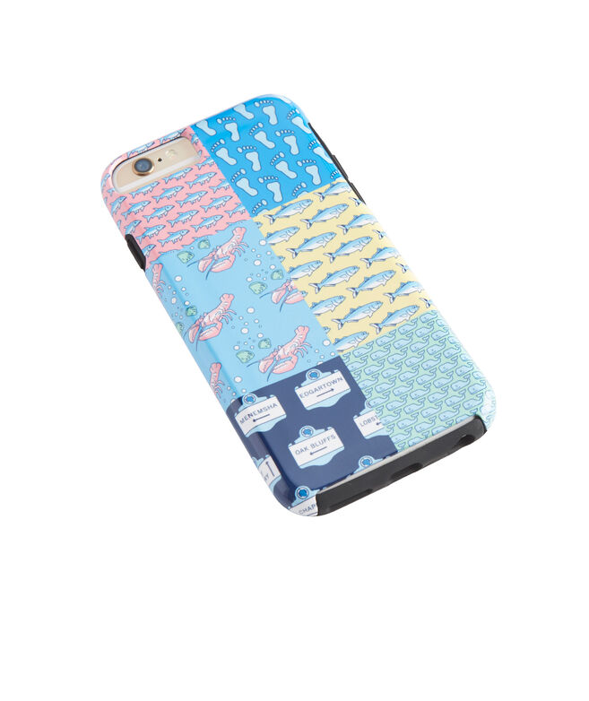 Patchwork iPhone 6 Case with Bumper