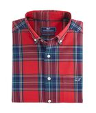 Caroler Plaid Classic Tucker Shirt