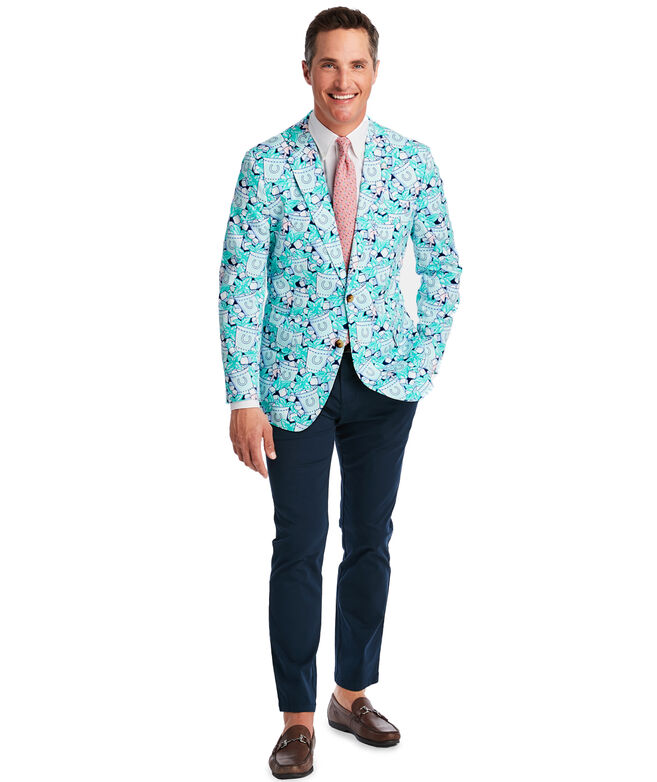 Iced Mint Julep Unconstructed Blazer