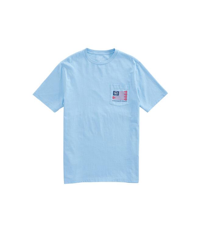 Lacrosse Flag Pocket T-Shirt