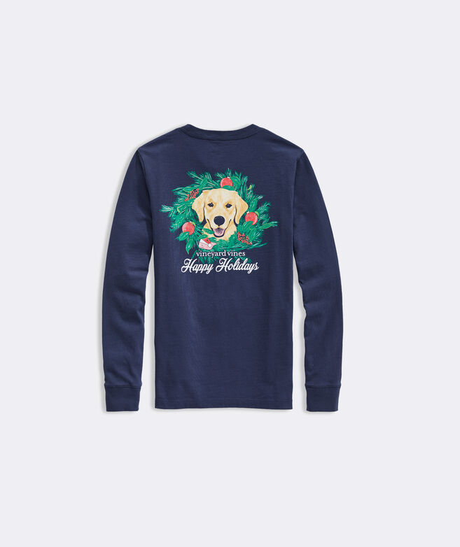 Kids' Family's Best Friend Long-Sleeve Pocket Tee