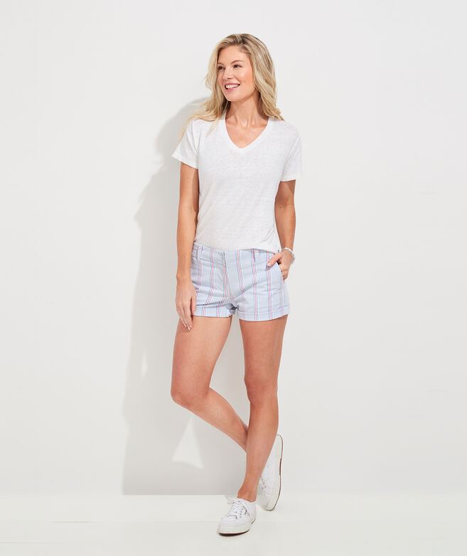 Nicholls Stripe Seersucker 5 Inch Every Day Shorts