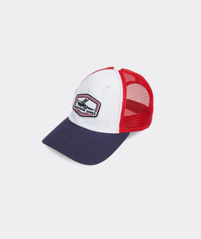 Boys' Sportfisher Patch Trucker Hat