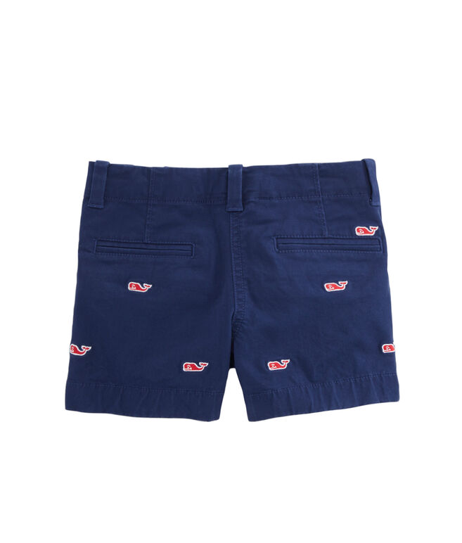 Girls Embroidered Every Day Shorts