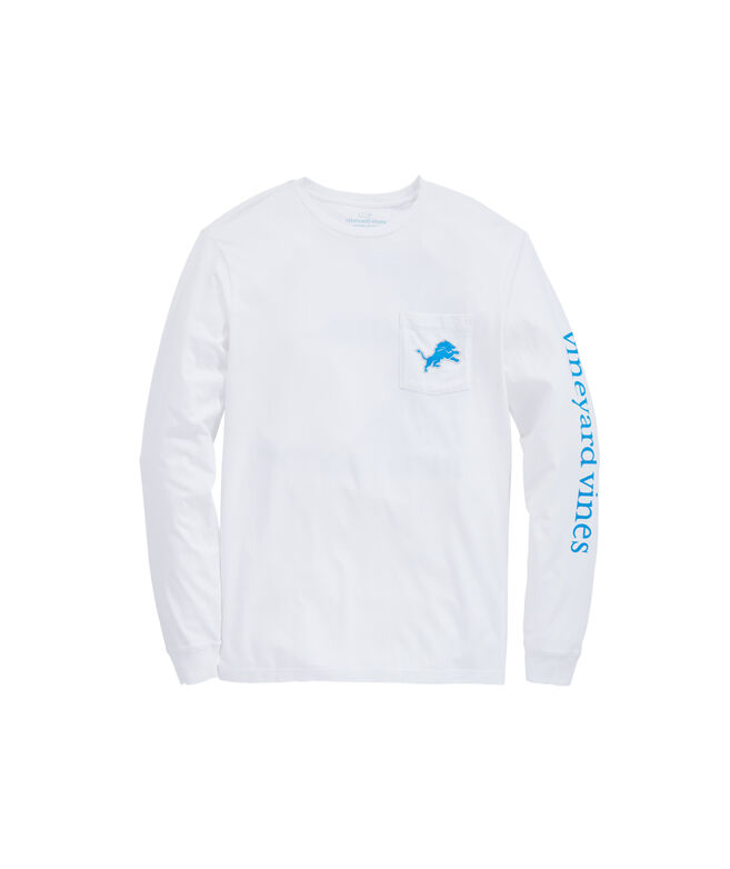 Detroit Lions Long-Sleeve EDSFTG T-Shirt