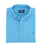 Fishlock Gingham Performance Classic Tucker Shirt