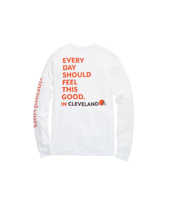Cleveland Browns Long-Sleeve EDSFTG T-Shirt