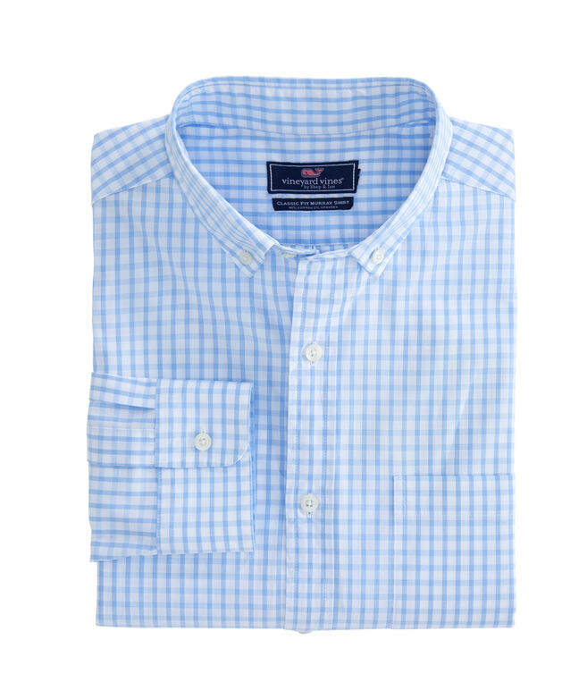 Micro Graph Check Classic Murray Shirt