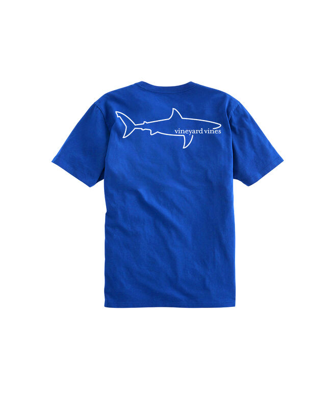 Simple Shark Short-Sleeve Pocket Tee