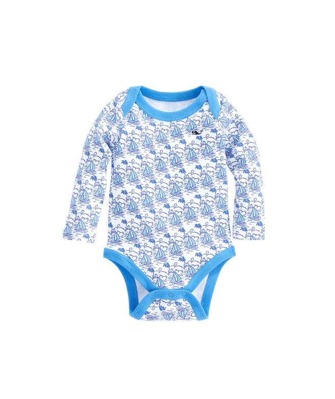 Baby Sailboats One-Piece