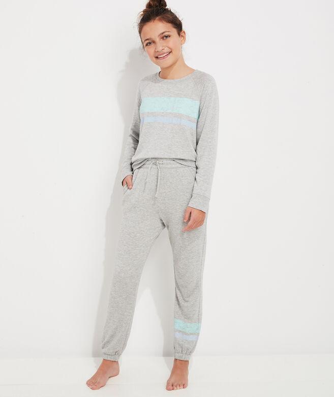 Girls' Stripe Leg Dreamcloth Joggers