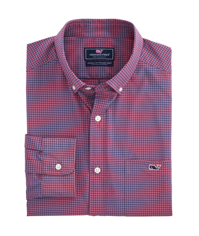 Classic Fit Lisbon On-The-Go Performance Tucker Shirt
