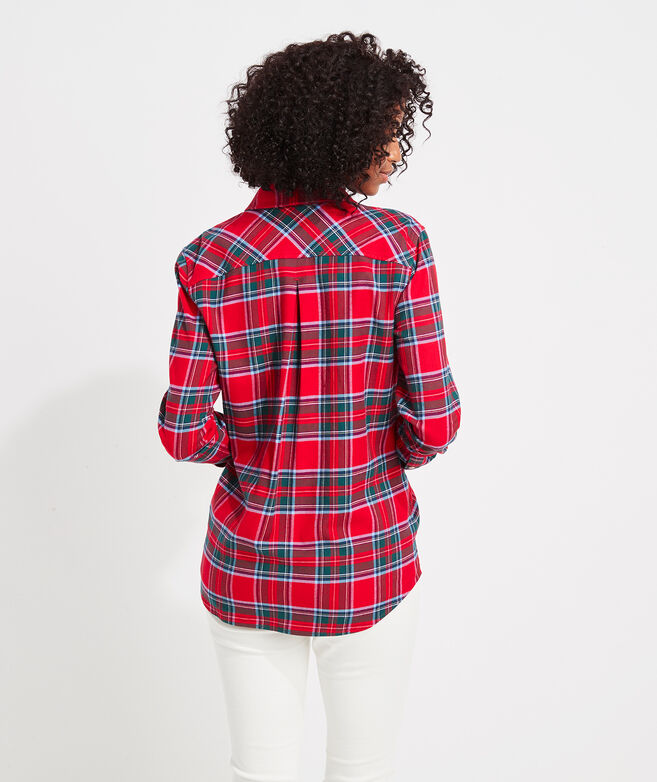Flannel Chilmark Relaxed Button-Down