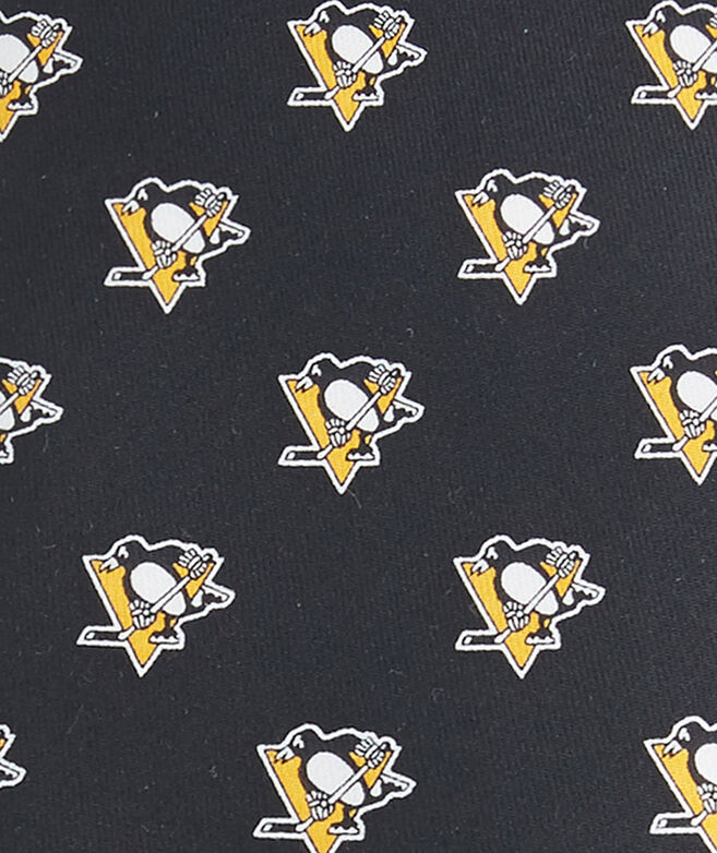Boys Pittsburgh Penguins Logo Tie