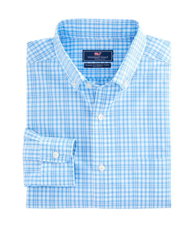 Harbour Island Check Classic Murray Shirt