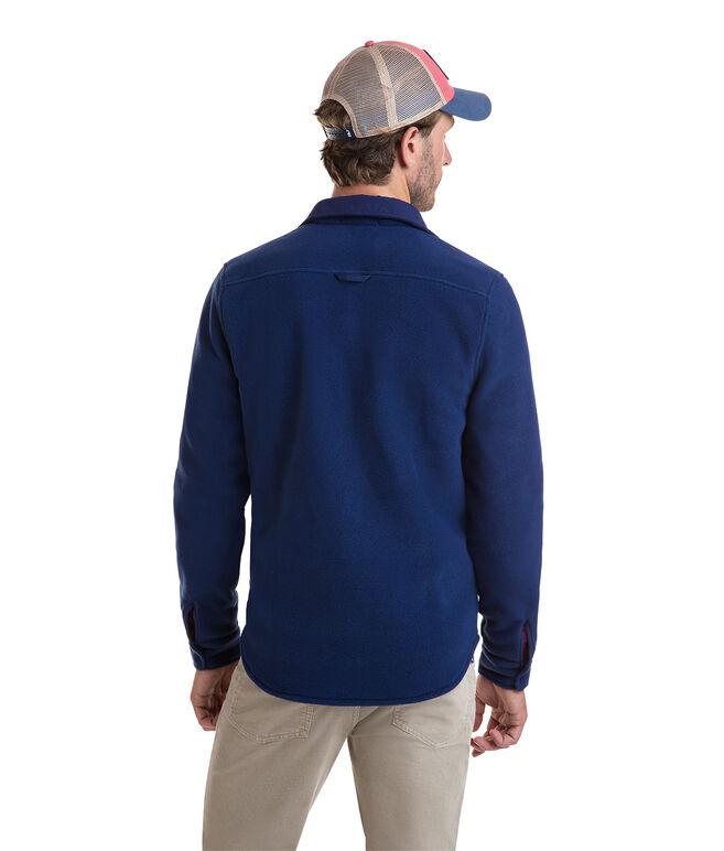 Shirt Jacket Snap Fleece