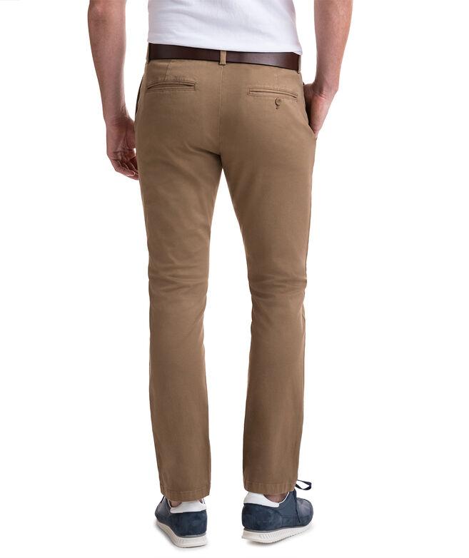 Stretch Slim-Fit Pants