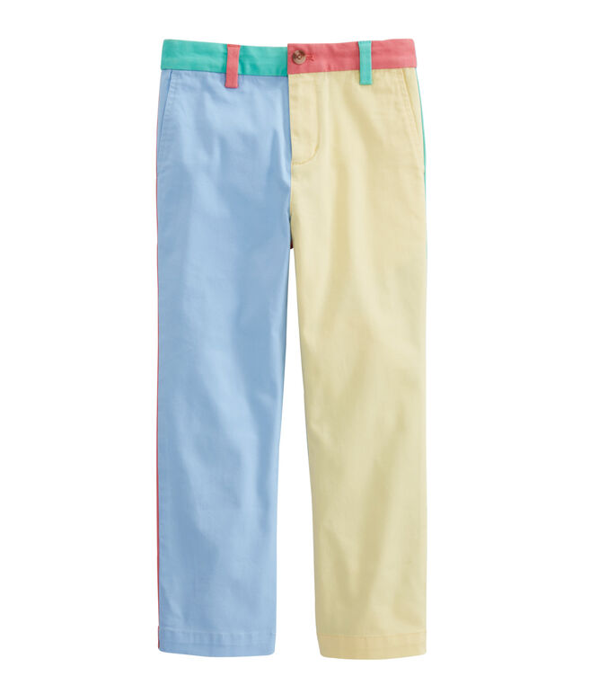 Boys Party Panel Breaker Pants