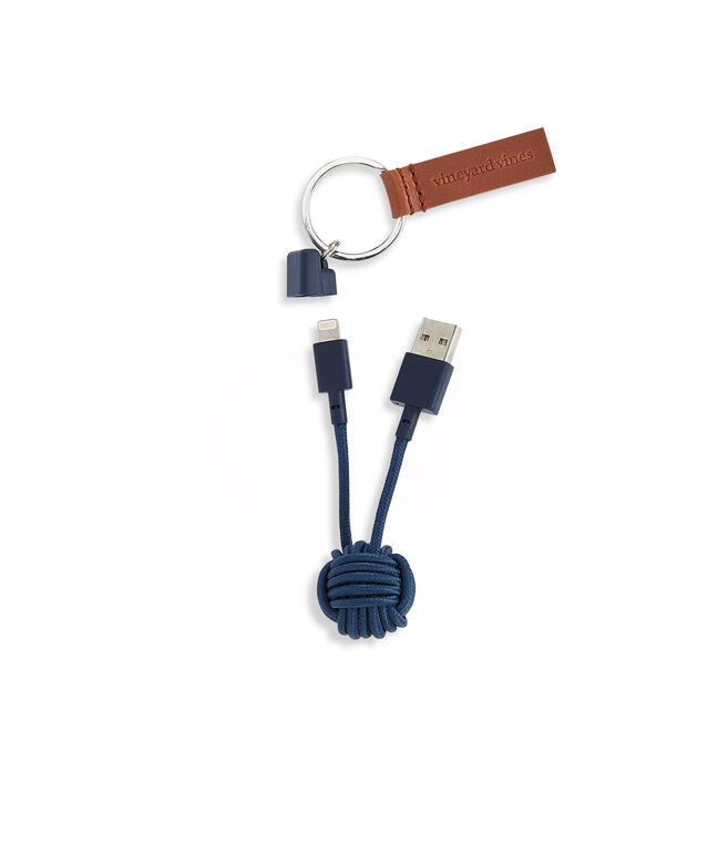 Knot Charger Keychain