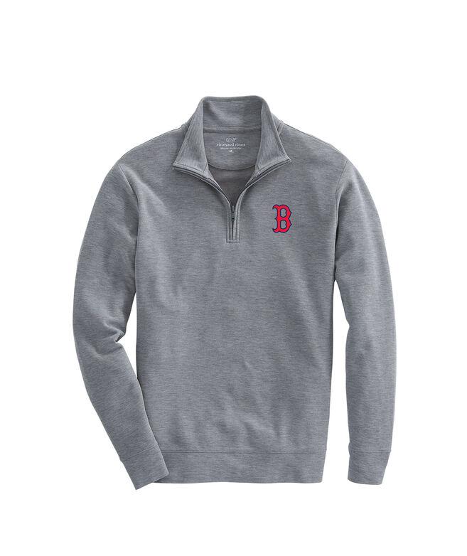 Boston Red Sox Saltwater 1/4-Zip