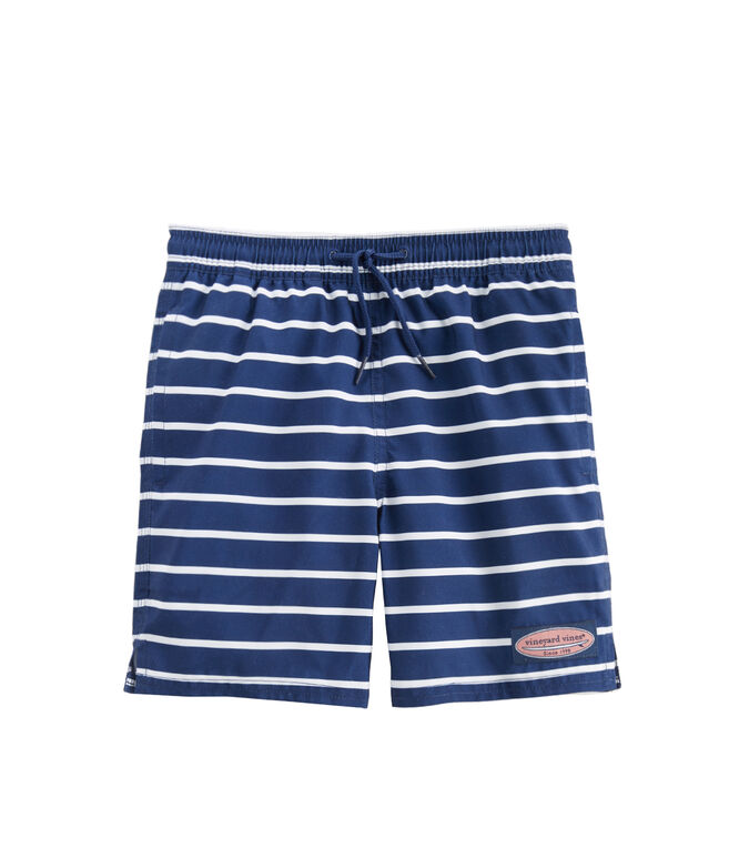 Boys Break Stripe Chappy Trunks