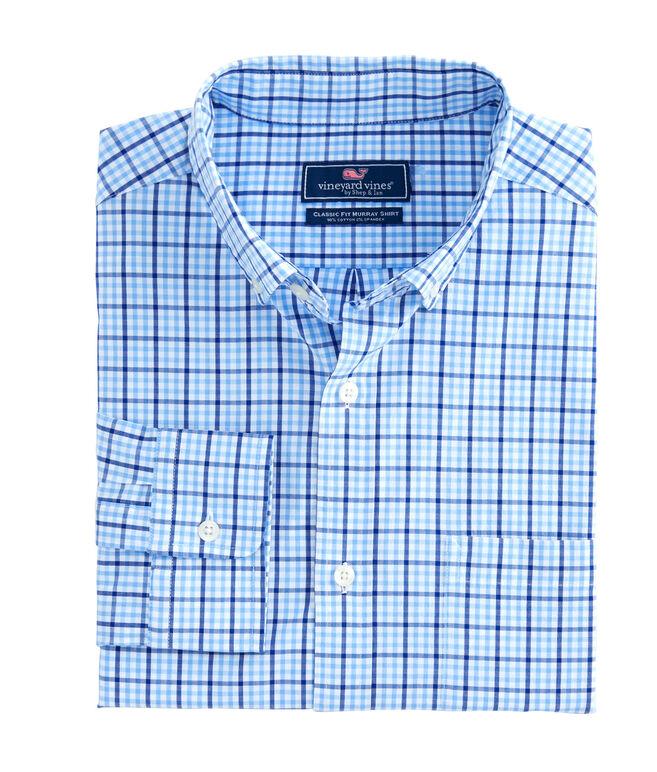 Windowpane Check Classic Murray Shirt