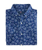 Short Sleeve Baja Floral Slim Murray Shirt