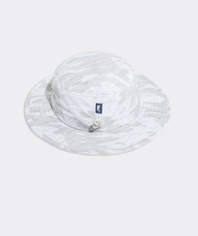 Sea Floor Camo Performance Bucket Hat