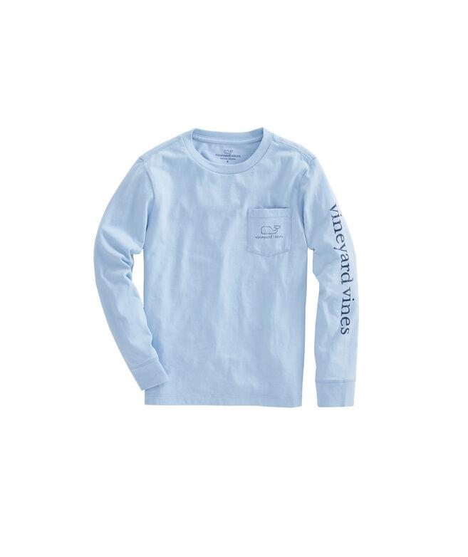 43cceade Shop Boys Long-Sleeve Vintage Whale Graphic T-Shirt at vineyard vines
