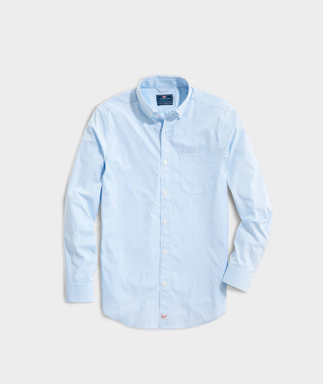 Classic Fit Cottage On-The-Go Performance Murray Button-Down Shirt