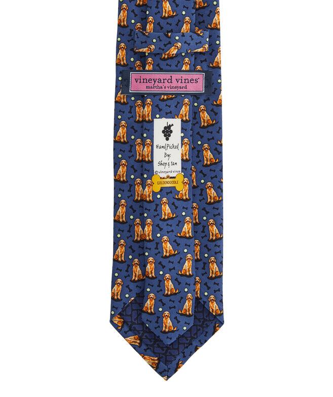 Goldendoodle Printed Tie