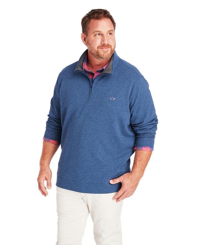 Big & Tall Saltwater 1/2-Zip Pullover
