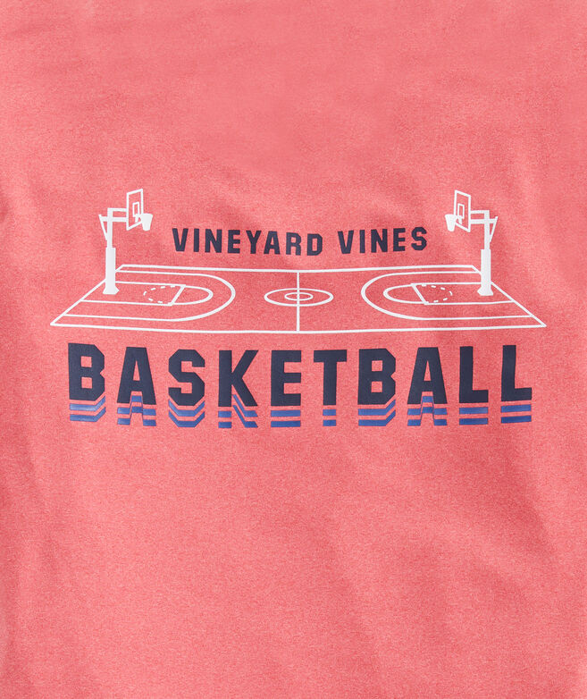 Boys' Basketball Short-Sleeve Performance Tee