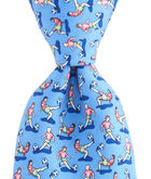 Boys Soccer Bicycle Kick Printed Tie