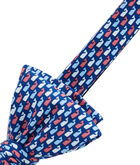 Red, White & Whale Bow Tie