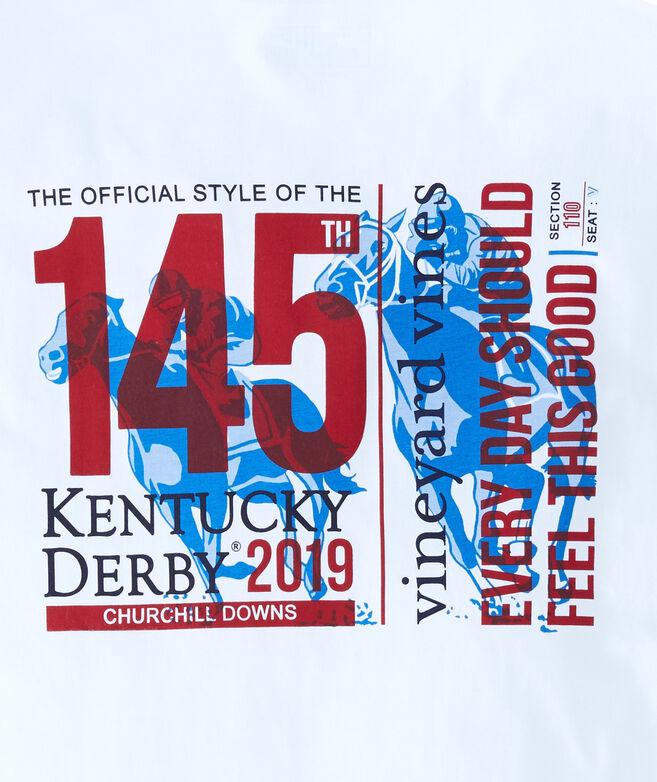 Kentucky Derby 145 Ticket Long-Sleeve Pocket Tee