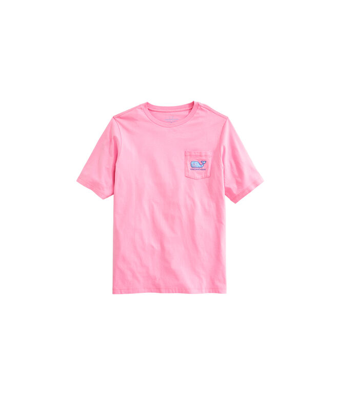OUTLET Kids' Sea Turtle Whale Fill Short-Sleeve Pocket Tee