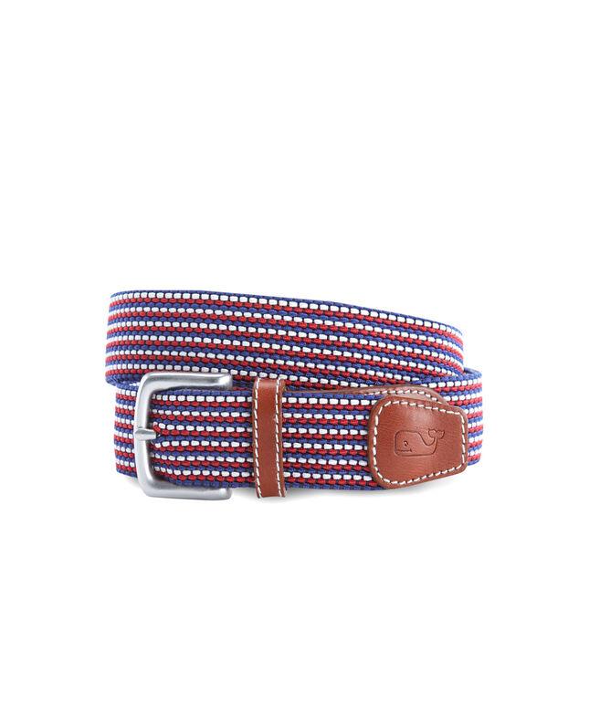 Fine Stripe Bungee Belt