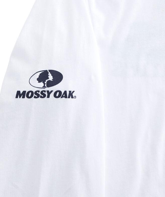 Long-Sleeve Mossy Oak Duck Hunt Whale Pocket T-Shirt