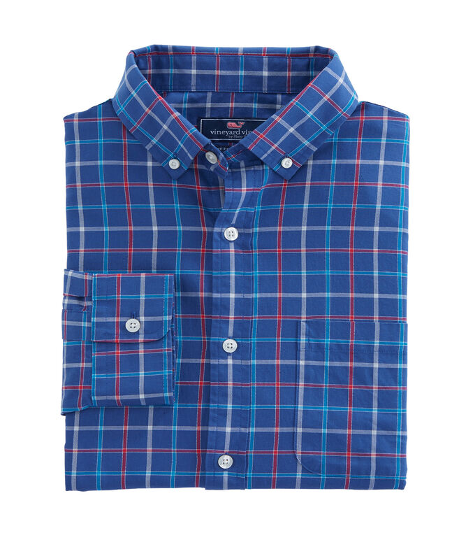 Jade Cove Check Classic Murray Shirt