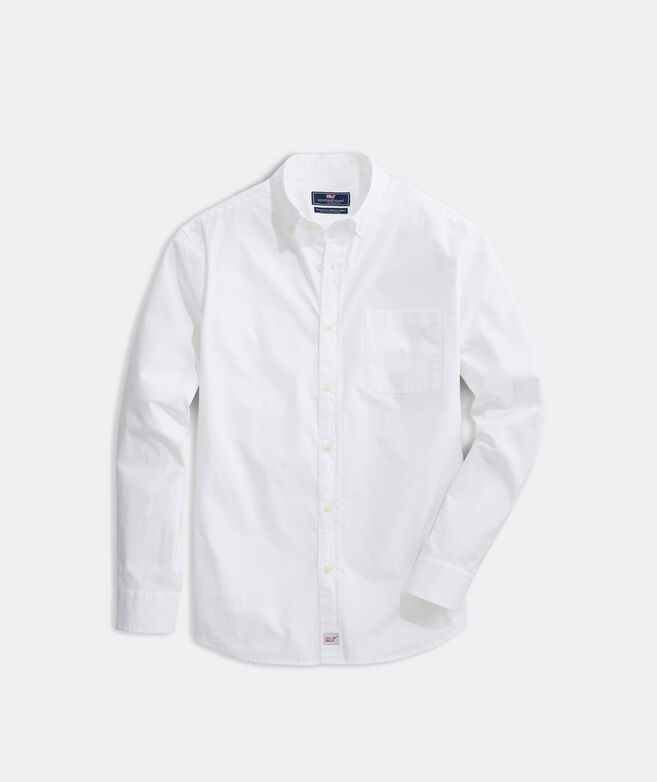 Classic Fit Solid Stretch Murray Shirt