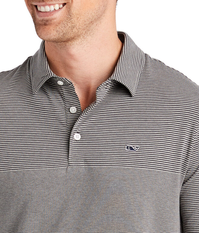 Two-Tone Edgartown Stripe Polo