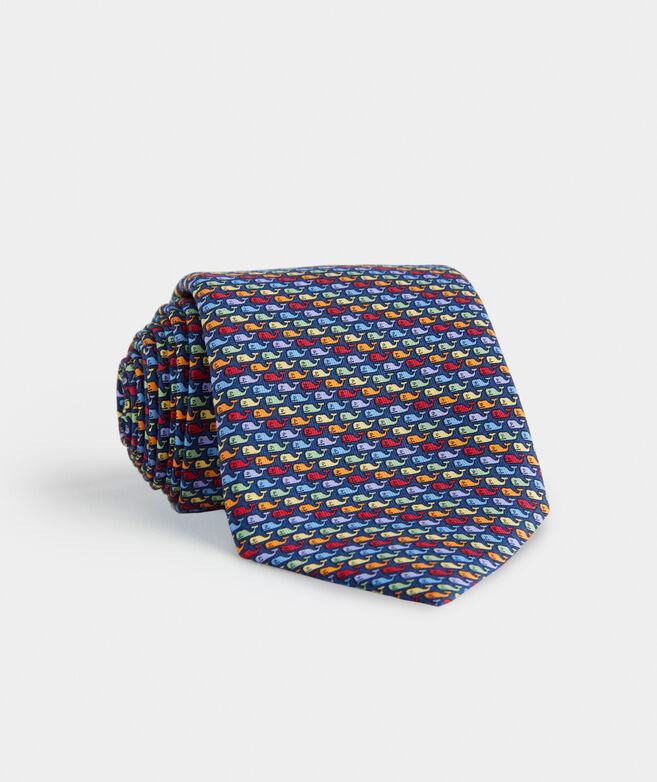 Pride Whales Printed Tie