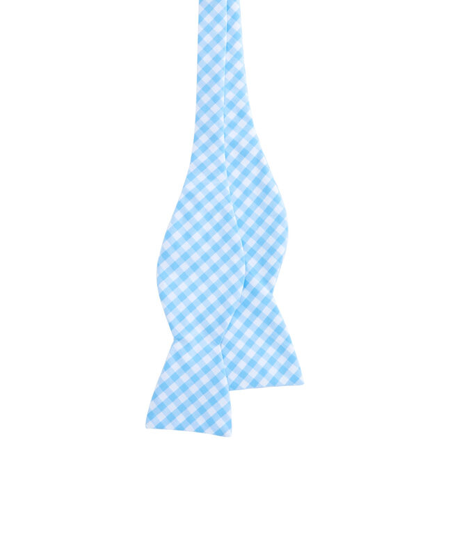 Elmont Gingham Woven Bow Tie