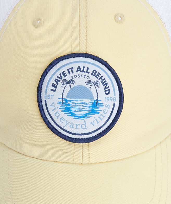 OUTLET Leave It All Behind Patch Trucker Hat