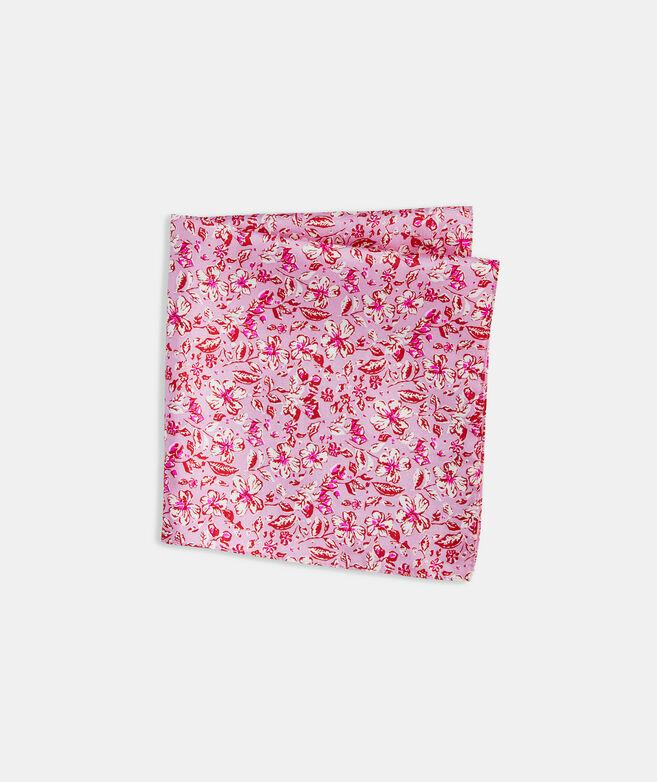 Hibiscus Floral Printed Pocket Square
