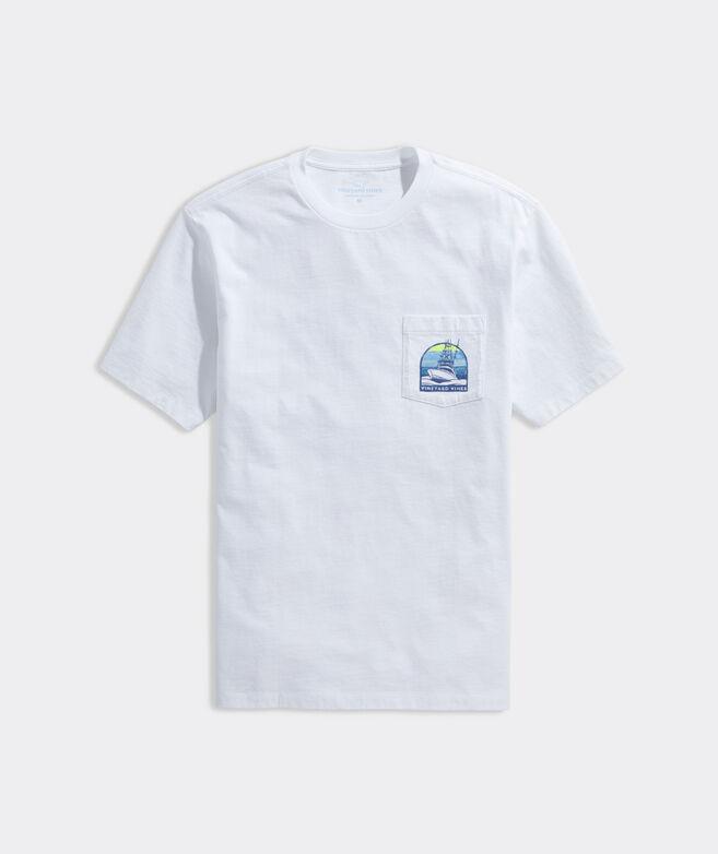 Sunset Cruise Short-Sleeve Pocket Tee